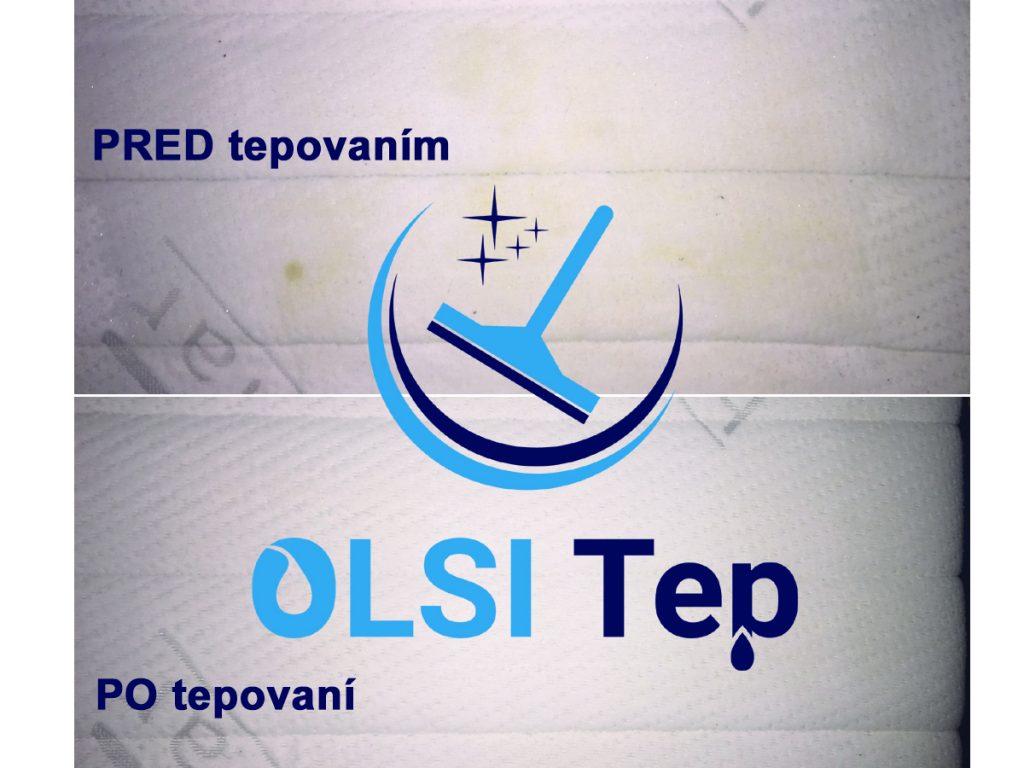 ukážka práce OLSI tepovanie - matrac