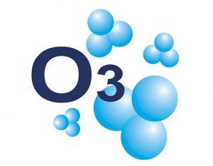 molekula ozónu